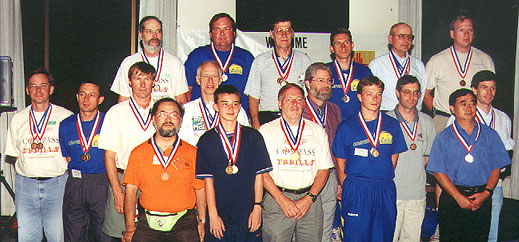 2001 Medalists