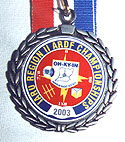Sample medal 2003