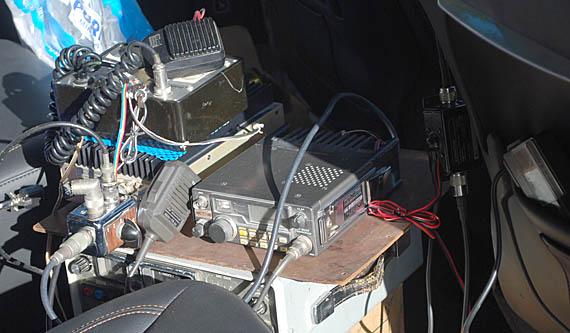 K0OV transmitting setup