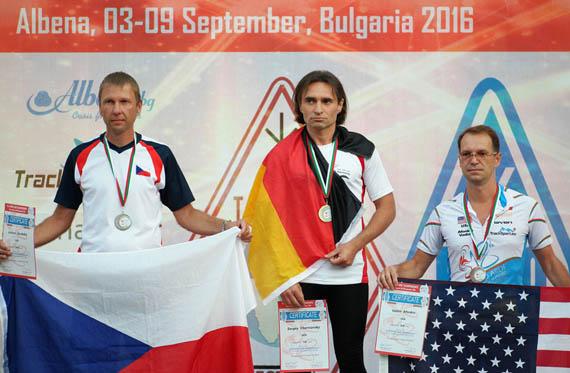 Vadim Afonkin KB1RLI gets medal