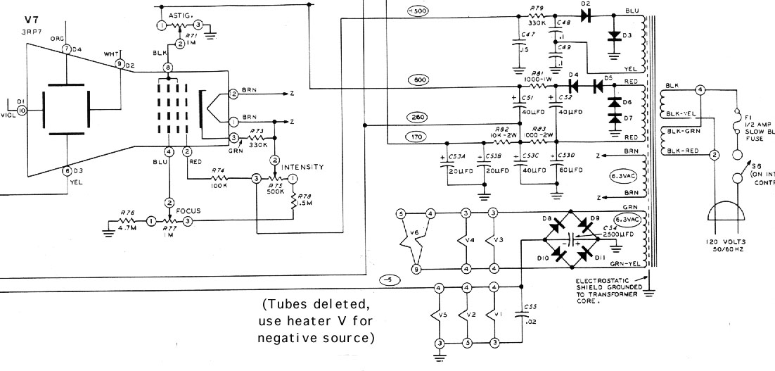 crt wiring diagram block circuit diagram the wiring