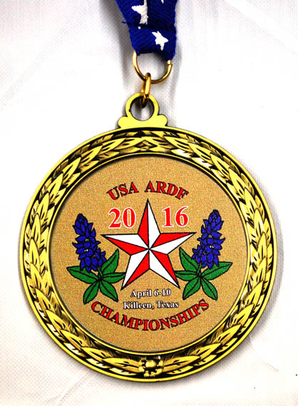 ARDF 2016 medal