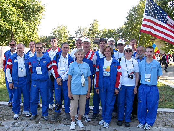 Team USA and visitors